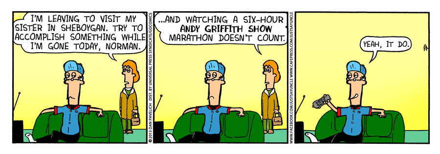 Just Say Uncle for May 29, 2013 Comic Strip