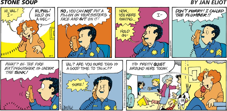 Stone Soup for October 01, 2000 Comic Strip