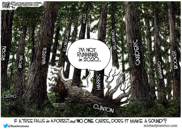 Michael Ramirez by Michael Ramirez for March 06, 2019