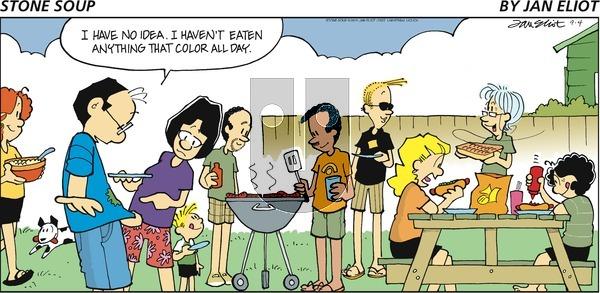 Stone Soup - Sunday September 4, 2016 Comic Strip