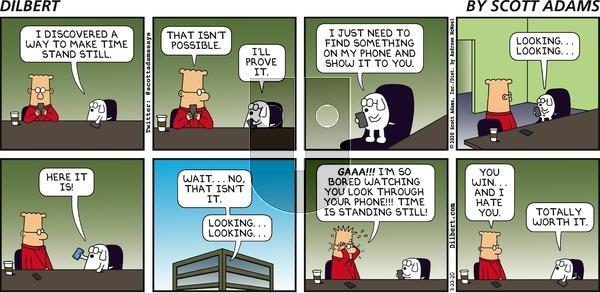 Dilbert - Sunday March 22, 2020 Comic Strip