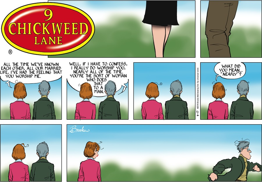 9 Chickweed Lane for Apr 17, 2016 Comic Strip