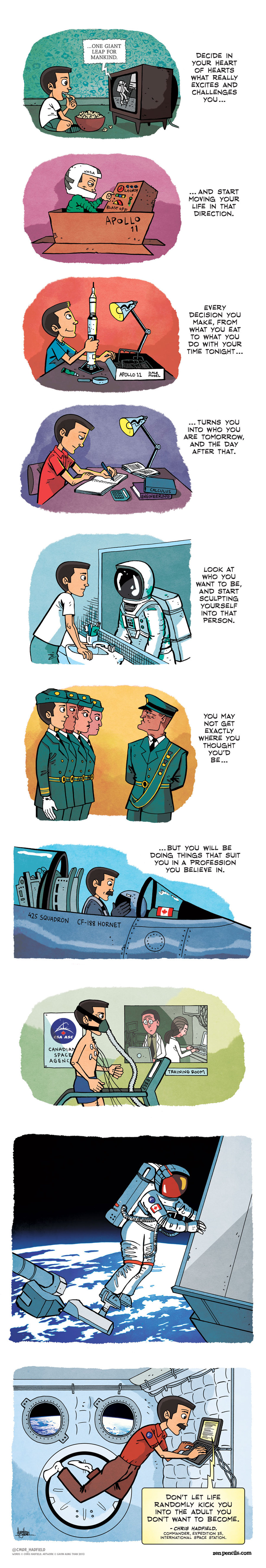 Zen Pencils for Mar 10, 2014 Comic Strip