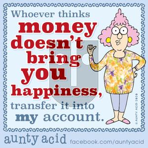 Aunty Acid on Tuesday January 7, 2020 Comic Strip