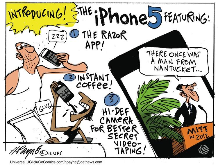 Henry Payne Comic Strip for September 23, 2012