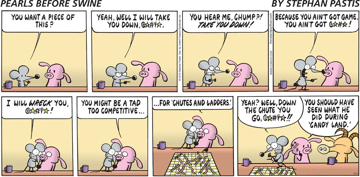 Pearls Before Swine Comic Strip for January 17, 2010