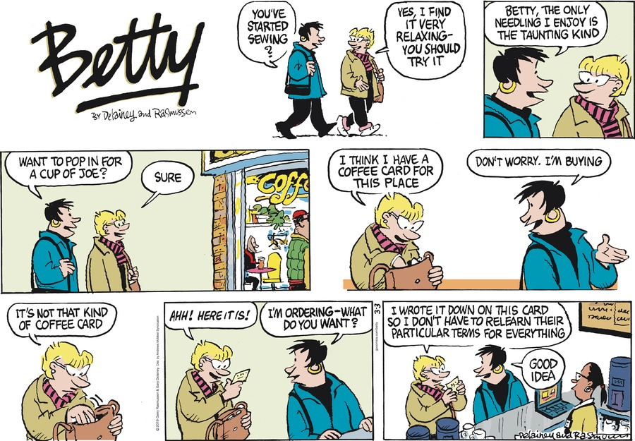 Betty by Gary Delainey and Gerry Rasmussen for March 03, 2019