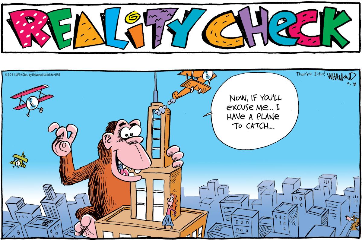 Reality Check Comic Strip for September 18, 2011