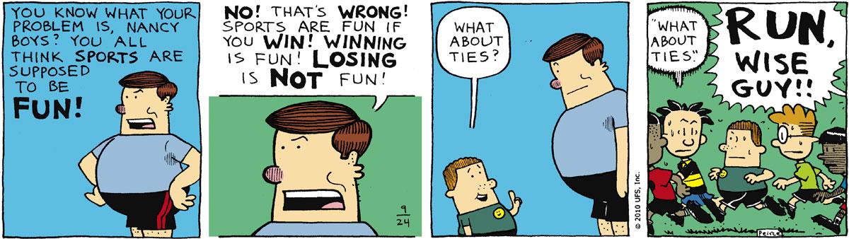 Big Nate Comic Strip for September 24, 2010