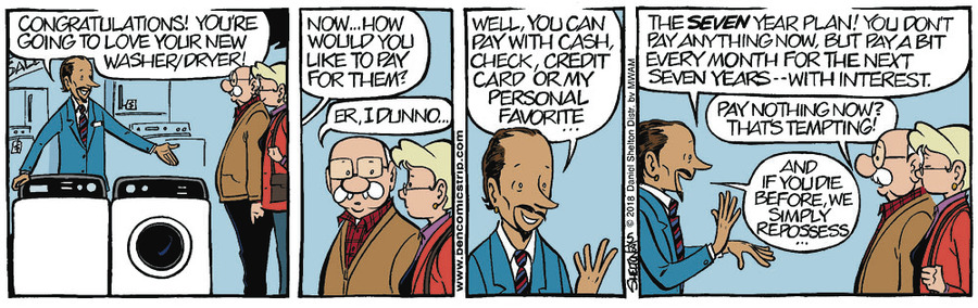 Ben Comic Strip for May 25, 2018
