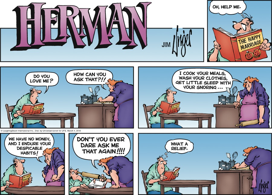 Herman for Mar 4, 2012 Comic Strip