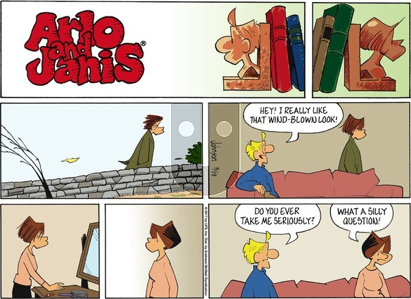 Arlo and Janis - Sunday March 19, 2017 Comic Strip