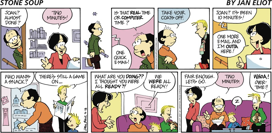 Stone Soup Comic Strip for March 18, 2007