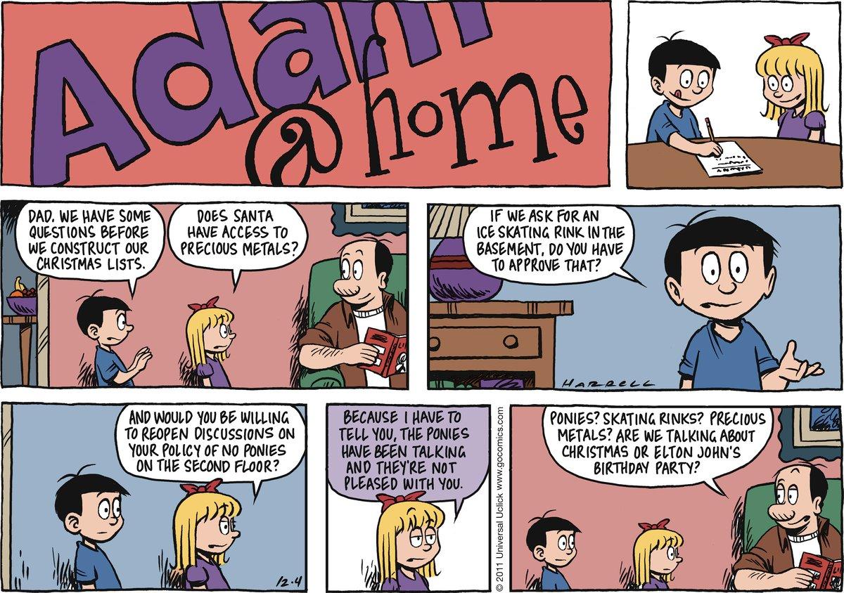 Adam@Home Comic Strip for December 04, 2011