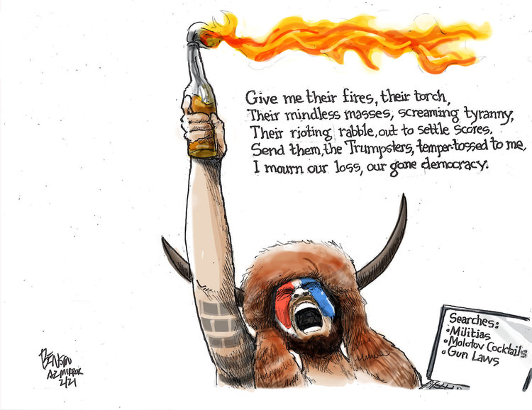 Steve Benson Comic Strip for February 25, 2021