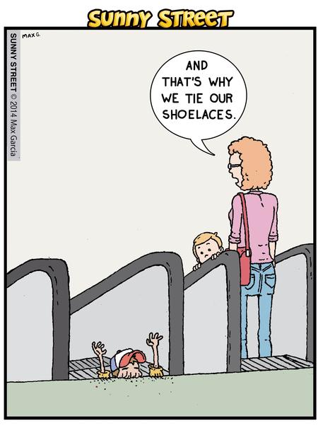 Sunny Street Comic Strip for June 18, 2014
