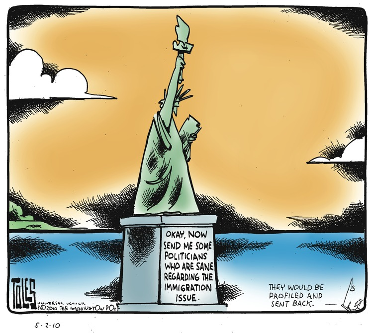 Tom Toles for May 2, 2010 Comic Strip