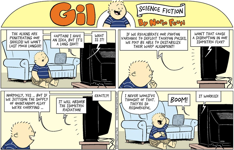 Gil Comic Strip for May 16, 2021