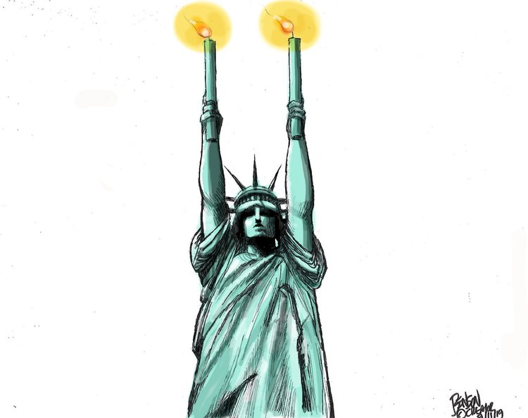 Steve Benson Comic Strip for September 11, 2019