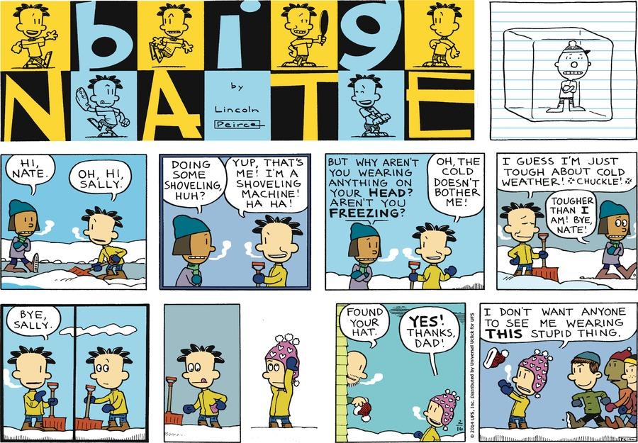 Big Nate Comic Strip for February 16, 2014