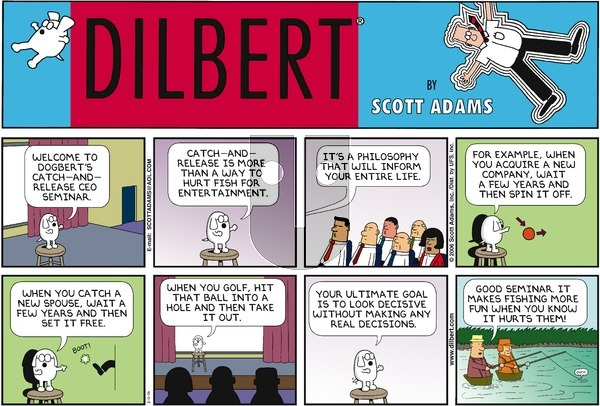 Dilbert on Sunday March 12, 2006 Comic Strip