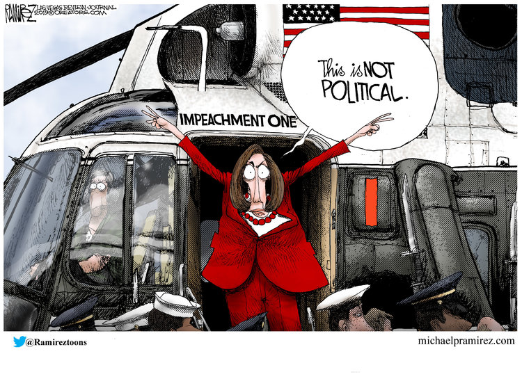 Michael Ramirez Comic Strip for December 11, 2019