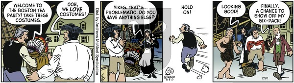 Alley Oop on Thursday February 20, 2020 Comic Strip