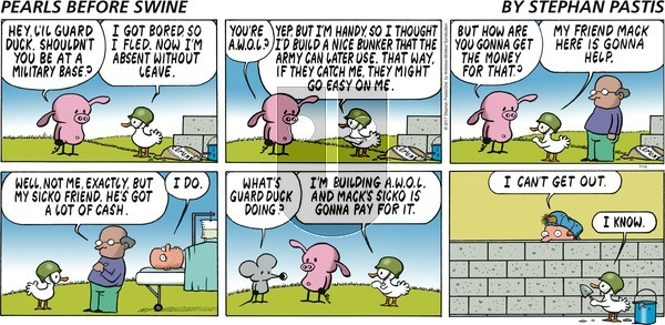 Pearls Before Swine on Sunday July 16, 2017 Comic Strip