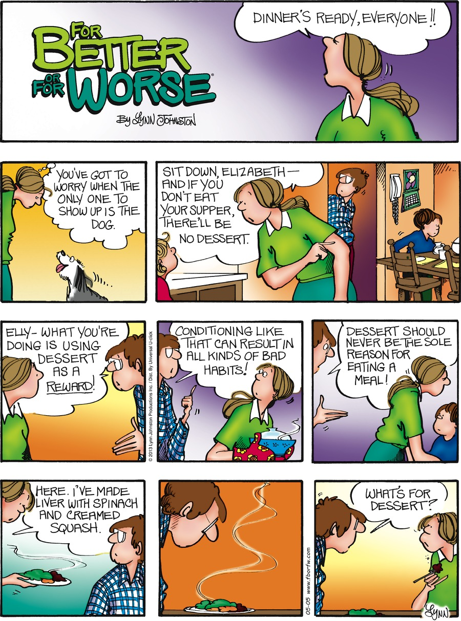 For Better or For Worse for May 5, 2013 Comic Strip