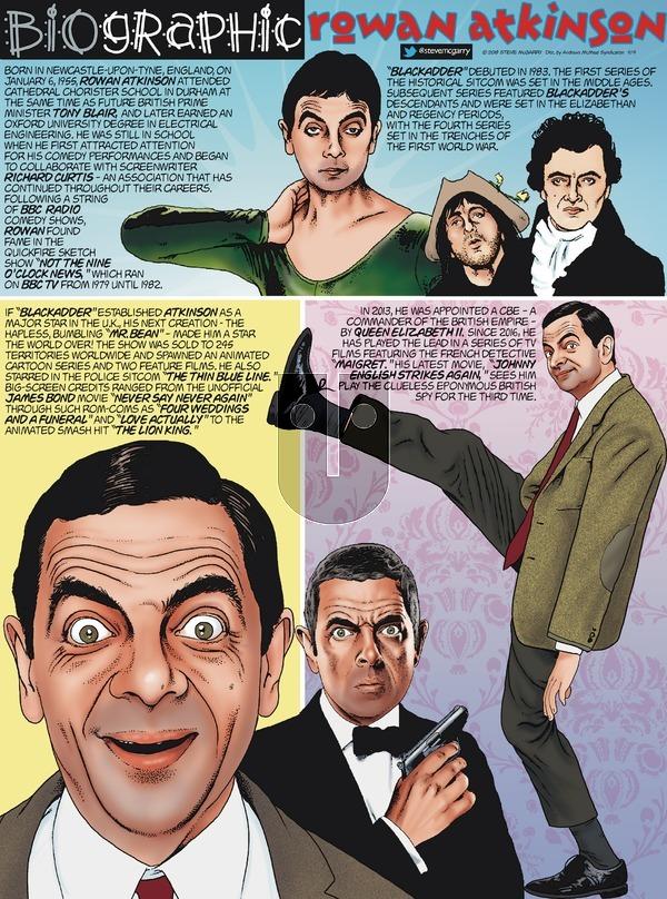 Biographic on Sunday November 4, 2018 Comic Strip