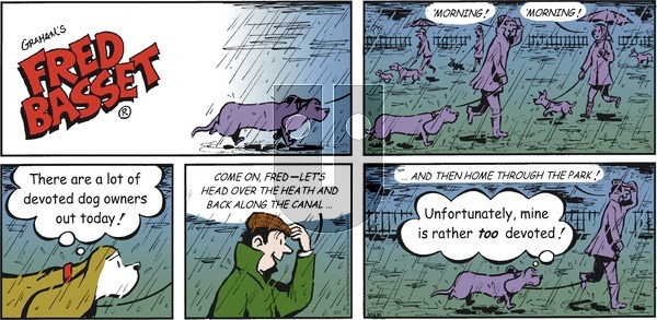 Fred Basset on Sunday February 21, 2021 Comic Strip