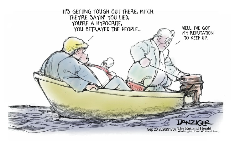 Jeff Danziger Comic Strip for September 20, 2020