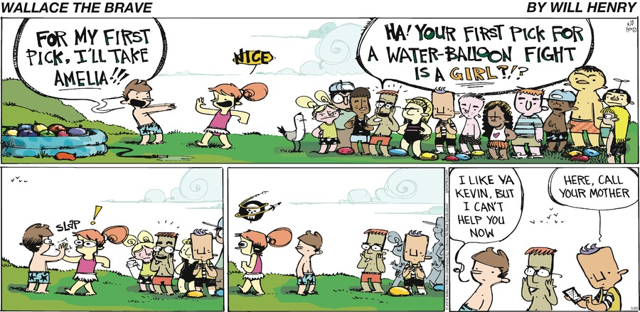 Wallace the Brave Comic Strip for May 20, 2018