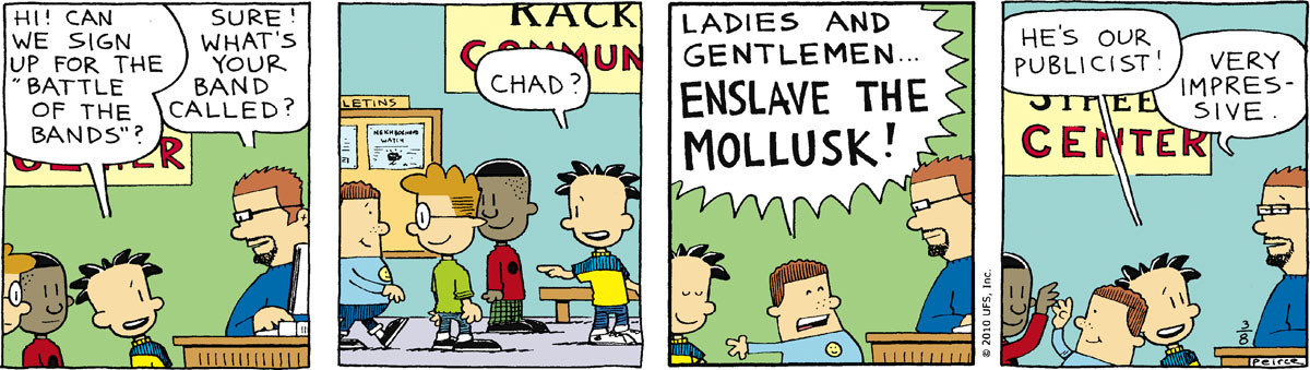 Big Nate Comic Strip for March 08, 2010