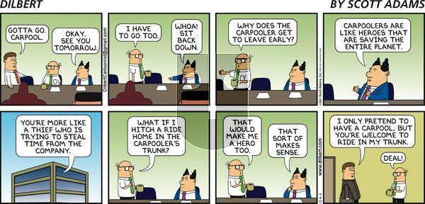Dilbert on Sunday December 4, 2011 Comic Strip