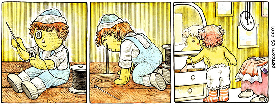 Perry Bible Fellowship Comic Strip for July 27, 2021