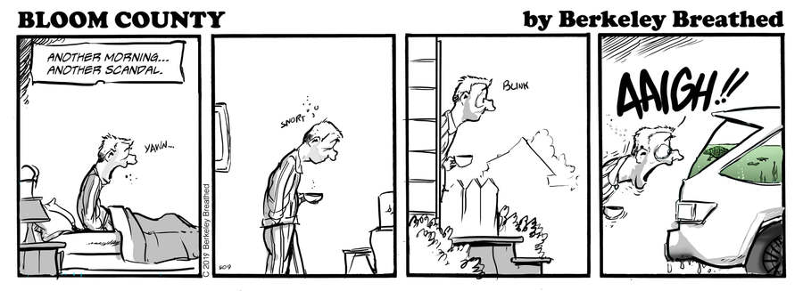Bloom County 2019 by Berkeley Breathed for September 30, 2019