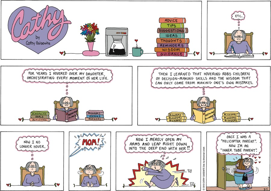 Cathy Classics Comic Strip for March 07, 2021