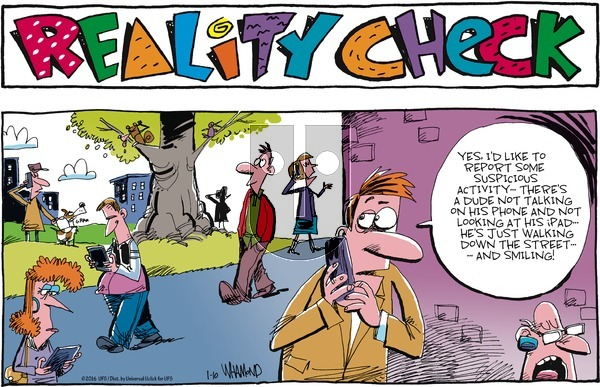 Reality Check on Sunday January 10, 2016 Comic Strip