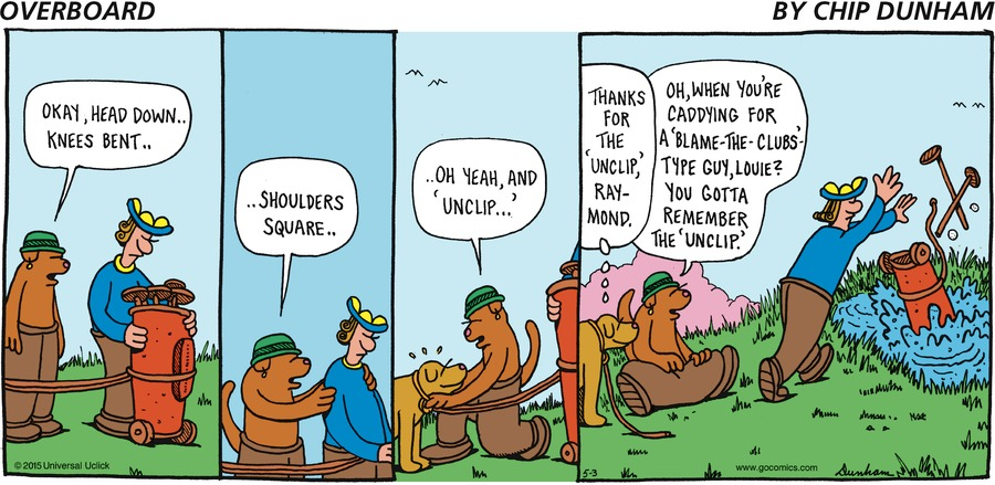 Overboard for May 3, 2015 Comic Strip