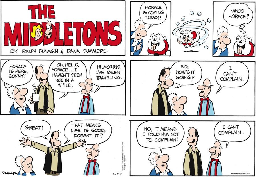 The Middletons for Jan 27, 2013 Comic Strip