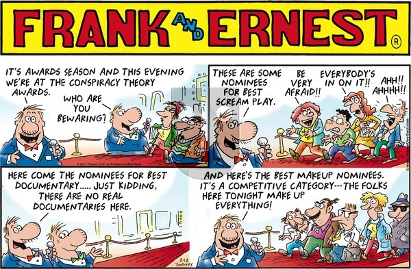 Frank and Ernest on Sunday February 12, 2017 Comic Strip