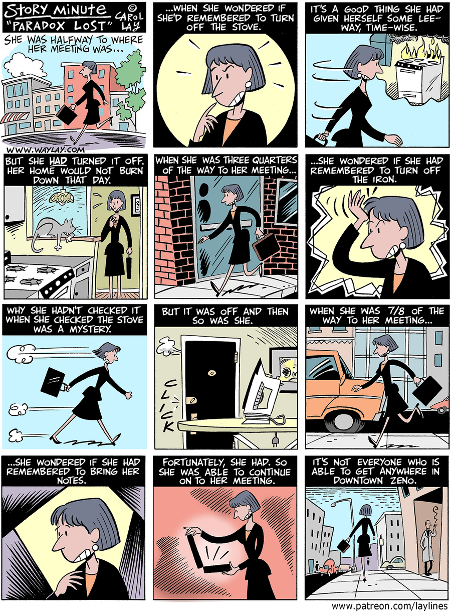 Lay Lines Comic Strip for February 19, 2016