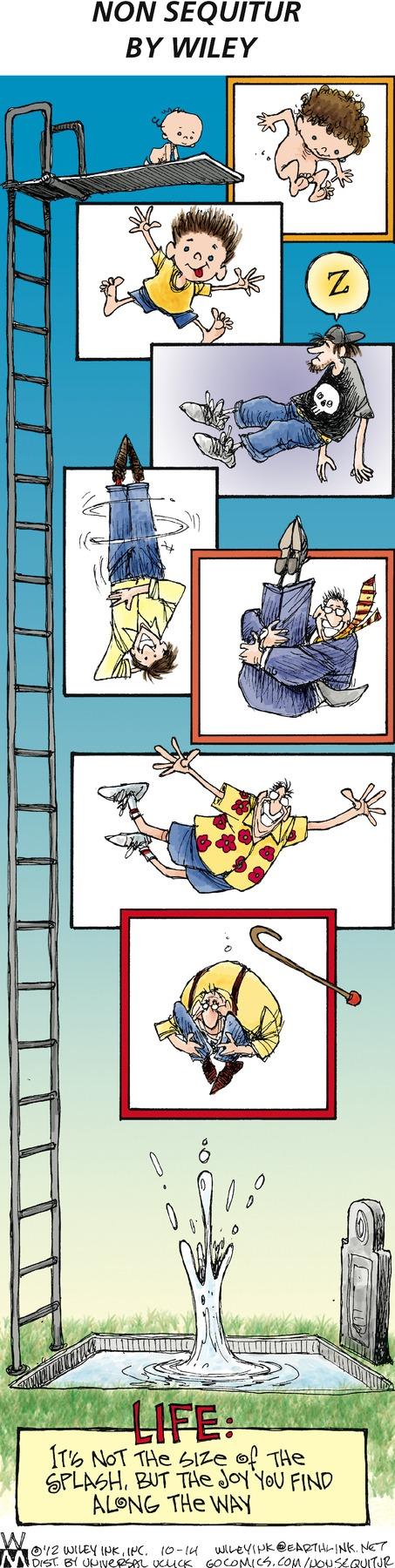 Non Sequitur Comic Strip for October 14, 2012