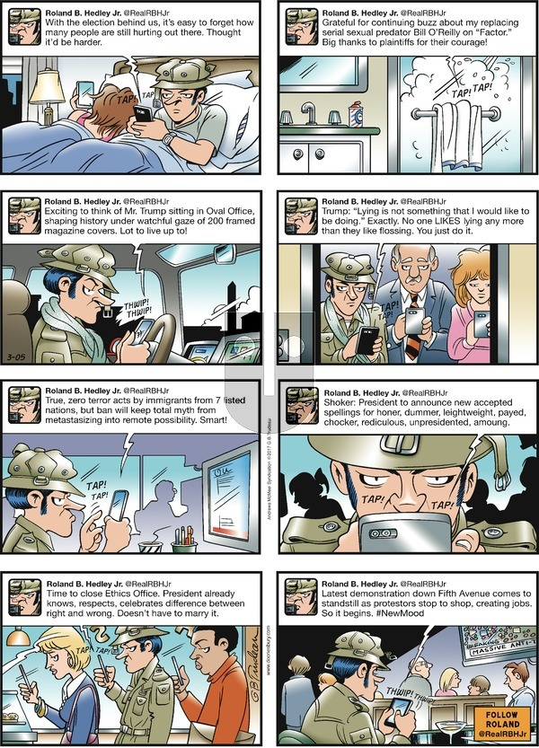 Doonesbury on Sunday March 5, 2017 Comic Strip