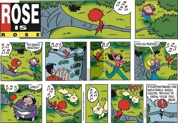 Rose is Rose on Sunday September 27, 2020 Comic Strip