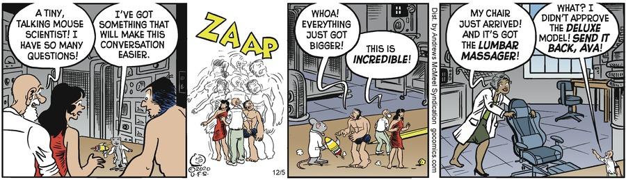 Alley Oop Comic Strip for December 05, 2020