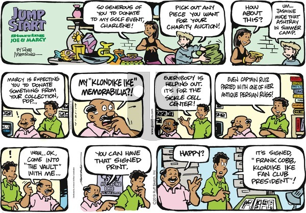 JumpStart on Sunday April 21, 2019 Comic Strip