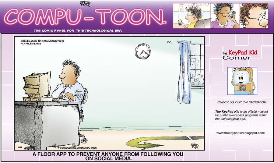 Compu-toon Comic Strip for October 05, 2014
