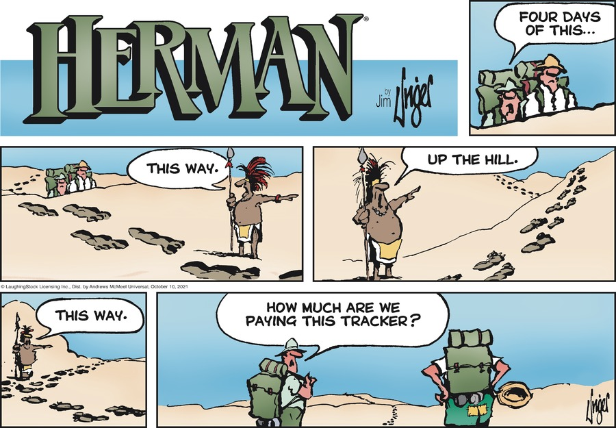 Herman by Jim Unger on Sun, 10 Oct 2021